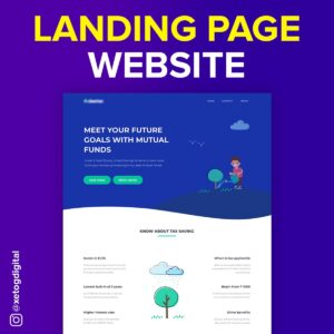 Landign Page Xetog Digitial